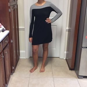 Black and grey dress. $5